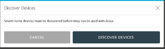 device discovery prompt