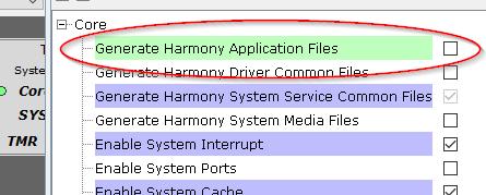 Disable app file generation